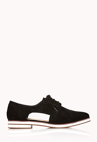Modernist Cutout Oxfords | FOREVER21 - 2000111945
