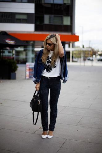 closet voyage jacket tank top belt shoes bag sunglasses jeans