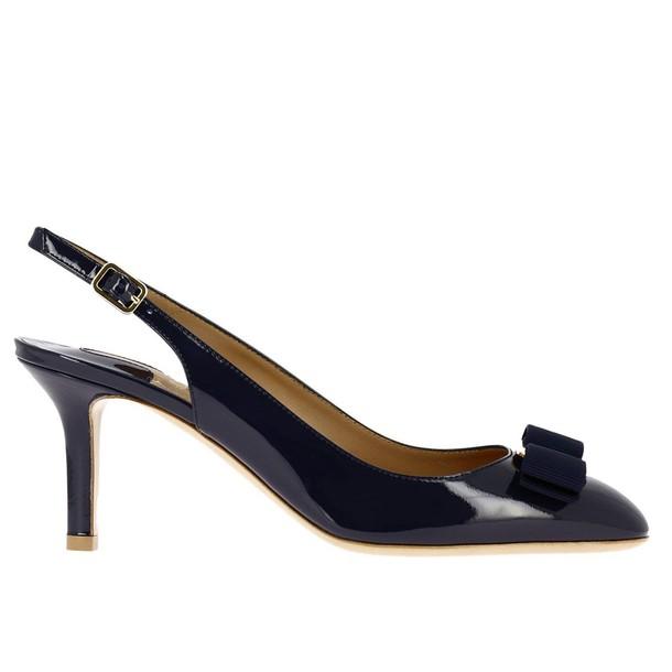 Salvatore Ferragamo women pumps shoes blue
