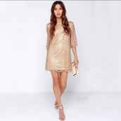 dress,party dress,glitter dress,gold dress,embellished dress