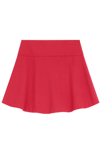 skirt red skirt mini skirt