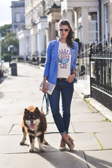 jewels blogger jacket thank fifi t-shirt shoes