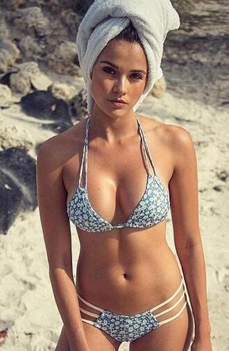 swimwear tillie floral bones montce swim bikini bottoms high end swimwear bikiniluxe
