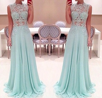 dress prom pretty turquoise turquoise dress
