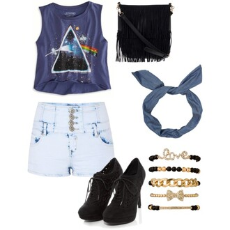 shorts hipster pink floyd