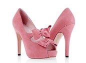 shoes,high heels,bows,pink