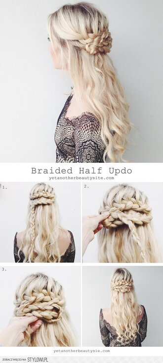 blouse lace lace dress lace top hairstyles braid