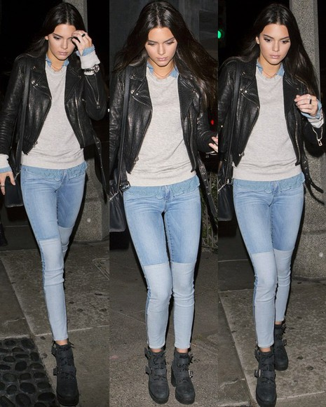 kendall jenner jeans shoes