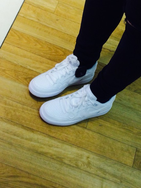 shoes white nike air max grunge white shoes