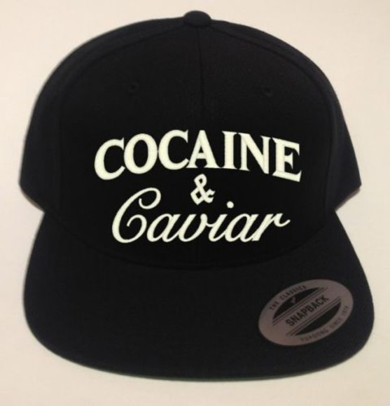cap fullcap cocaine and caviar fitted