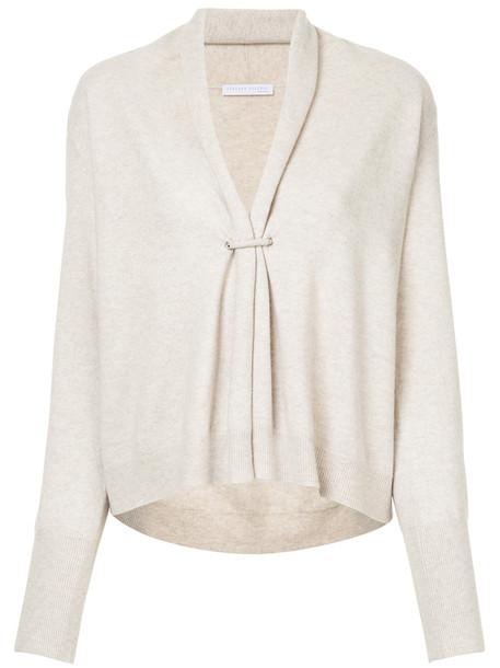Fabiana Filippi cardigan cardigan women nude silk sweater