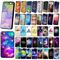 New universe pyramid pattern hard skin case cover for apple iphone 4 4s 5s 5c