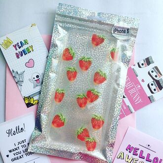 phone cover yeah bunny fruits iphone cover strawberry