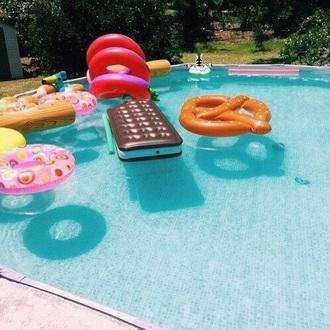 swimwear pool float food float dress pool party