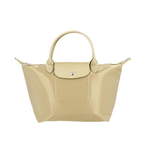 Longchamp women bag handbag shoulder bag gold
