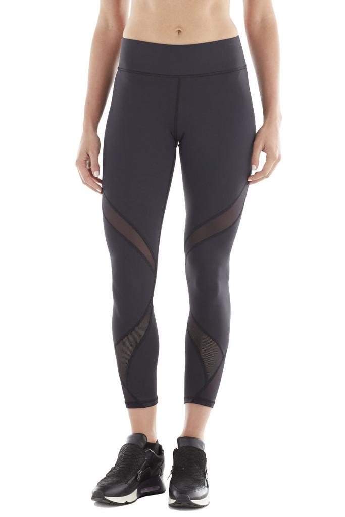 Michi Hydra Crop Leggings | Black Designer Leggings