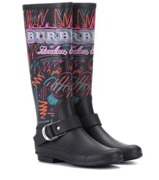 Burberry black shoes