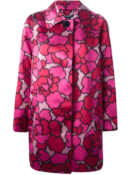 Marc Jacobs coat purple pink
