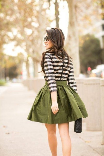 dress green green dress military style colorful winter outfits winter dress winter look black white