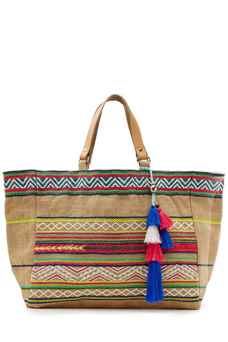 embroidered multicolor bag