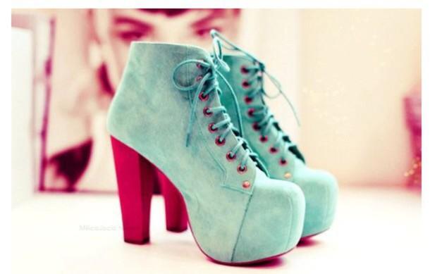 shoes lace up heels platform lace up boots