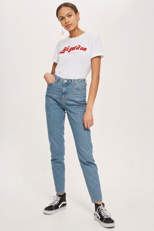 Mid Blue Orson Slim Leg Jeans