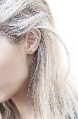 jewels earrings piercing primark ear cuff minimalist jewelry