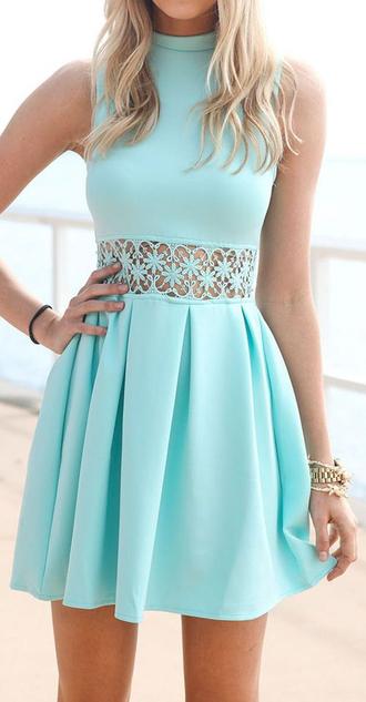 dress turtleneck mint fashion