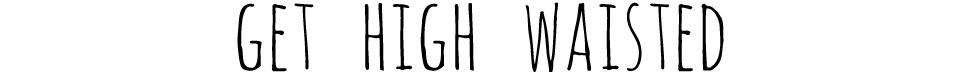 GET HIGH WAISTED   Shop high waisted shorts and vintage clothing   SUPERHERO