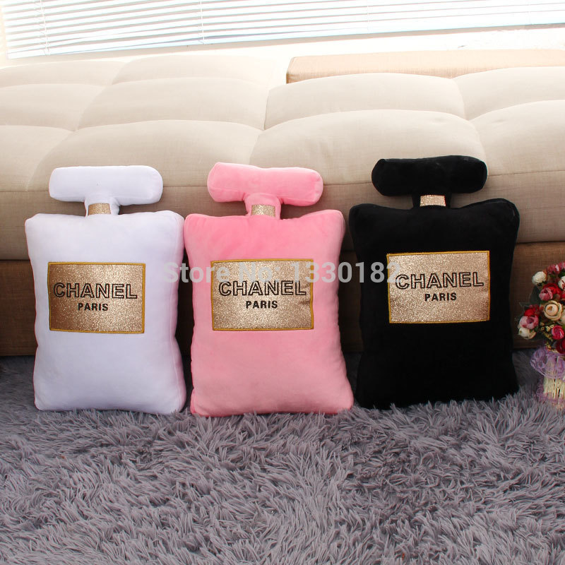 [ New the third group ] creative Chanel perfume bottle shape pillow doll plush toys wholesale chanel-in Pillows from Home & Garden on Aliexpress.com