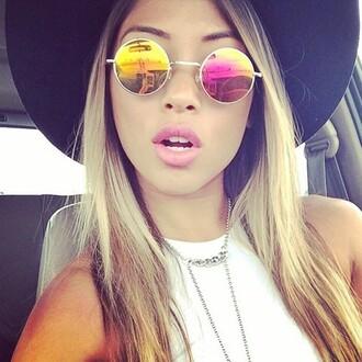 sunglasses outfit made glasses boho