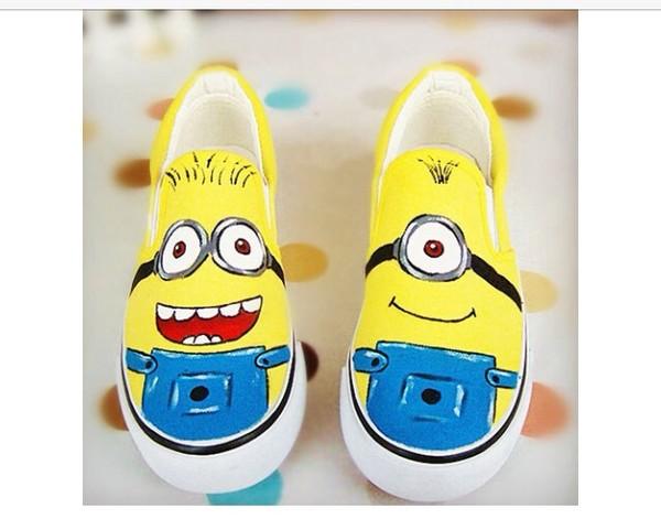 minion shoes despicable me shoes despicable me minions shoes minion ... 326b2e76d