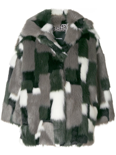 Diesel coat women grey