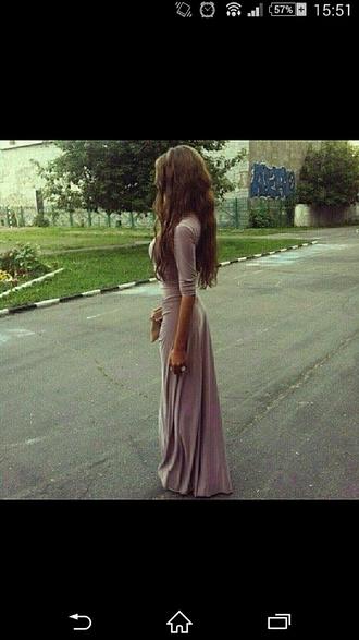 dress purple dress maxi dress
