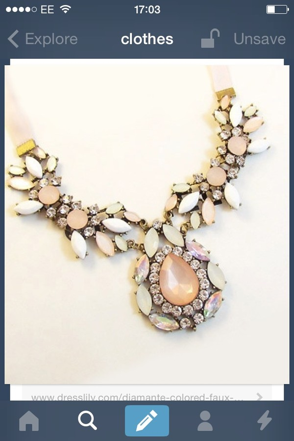 jewels orange necklace big statement