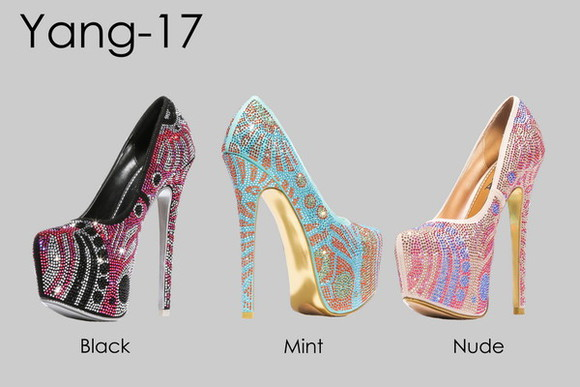 shoes pumps high heels platform high heels sexy high heels alba yang high heels, glitter, black, silver black high heels rose high heels