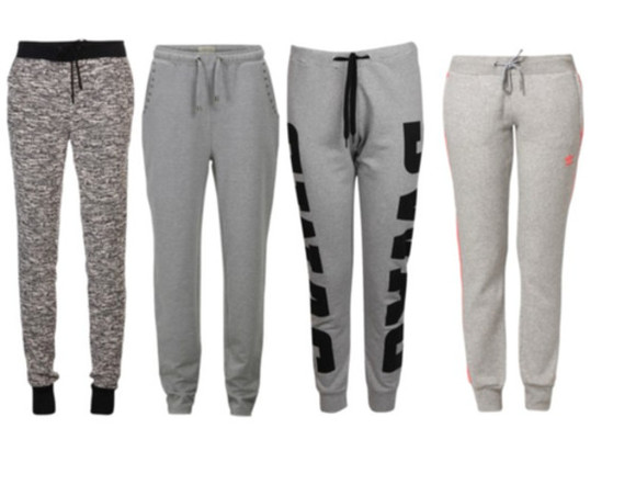 pjs pants black sweatpants grey sweatpants