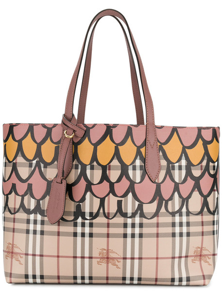 Burberry - medium reversible tote bag - women - Leather - One Size, Brown, Leather
