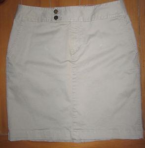 Tommy hilfiger women's khaki tan stretch skirt size 12