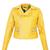 Jaqueta Perfecto FiveBlu Shake Amarelo - Compre Agora | Dafiti