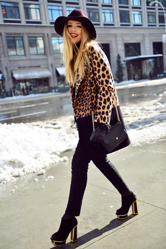 kayture coat shoes hat pants bag jewels