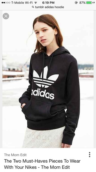 top black hoodie adidas adidas hoodie black jacket adidas jacket women long sleeves