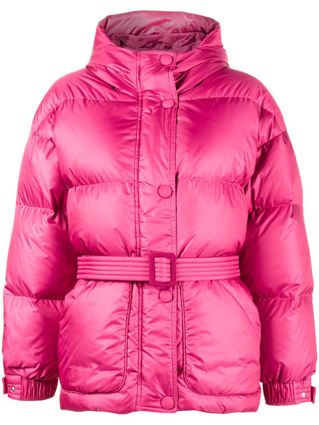 Ienki Ienki jacket puffer jacket women cotton purple pink