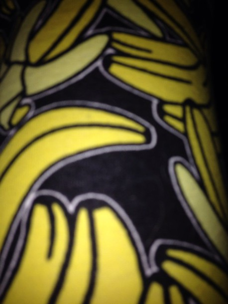 leggings banana print