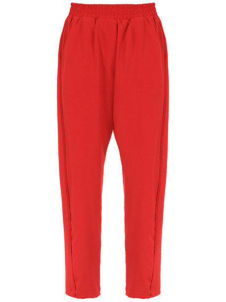 Olympiah women spandex red pants