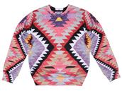 sweater,printed sweater,sweatshirt,all over print,full print,jumper,pullover,navajo sweater,navajo