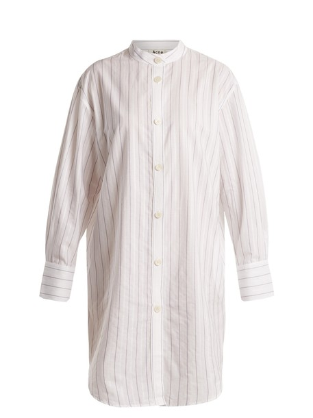 Acne Studios shirtdress cotton white dress