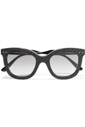 sunglasses leather black