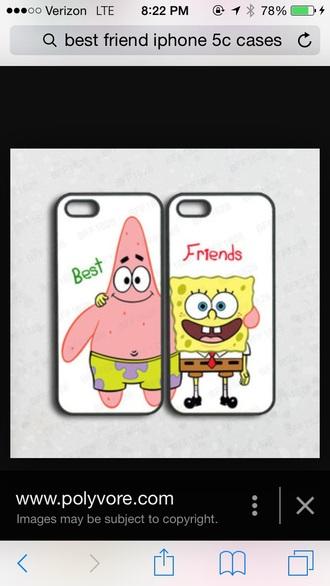 phone cover spongebob and patrick