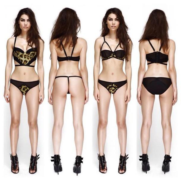 53376f02643b underwear, lingerie, sexy, leopard print, animal print, panties ...